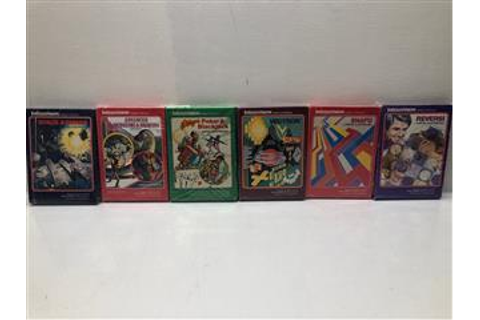 Lot of 17 Vintage Intellivision Video Games Donkey Kong ...
